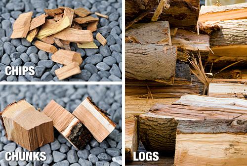 Smoke Wood Chip Sizing